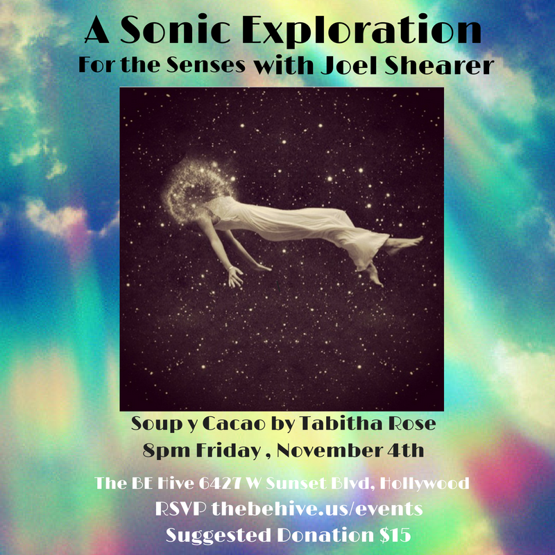 A Sonic Exploration For The Senses