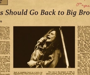"""Get Better"" Janis: Little Girl Blue"
